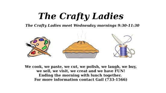 Crafty Ladies 2017
